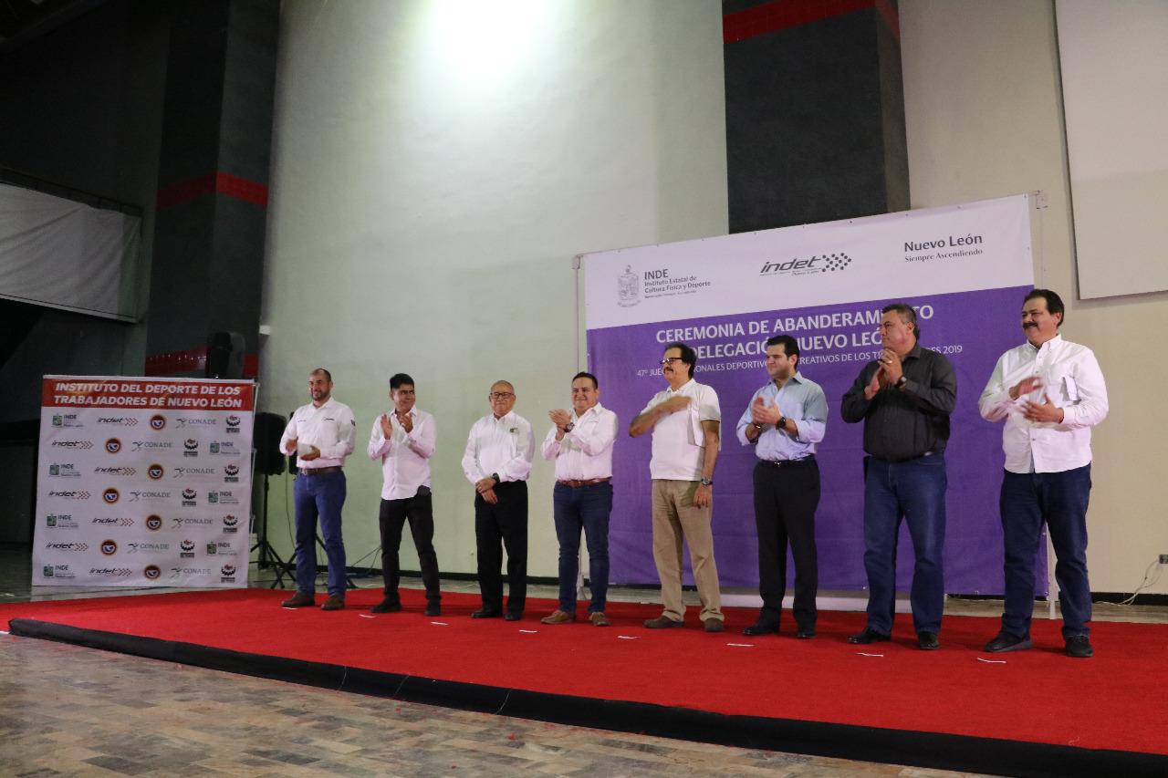 Se declara listo Nuevo León para Juegos Deportivos de los Trabajadores